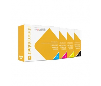 Tintas Chromablast-HD para Sawgrass Virtuoso  SG400/S800 (29/42 ml)