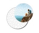 40 pieces circular puzzles High Quality  (34 cm)