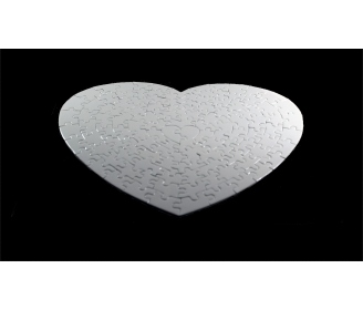 111 pieces heart-shaped puzzles High Quality (31 x 35 cm)