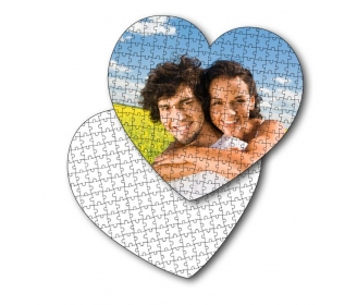 111 pieces heart-shaped puzzles High Quality (35 x 31 cm)