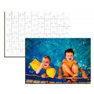 Puzzles en bois 60 pièces (25 x 17,5 cm)