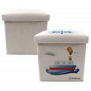 Cajas de almacenamiento multifuncional de lino