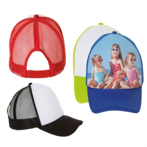 Gorras de malla de 5 paneles