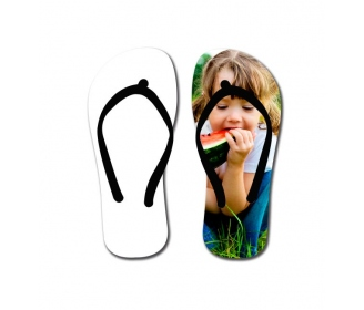 Tongs 2D personnalisables