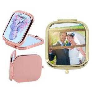 Espejos de bolso rectangular