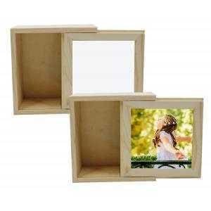 Multi-purpose wooden box