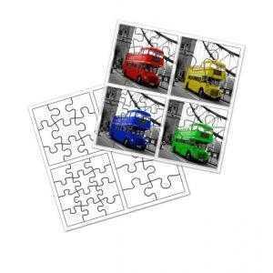 Puzzle infantil 4 en 1 Alta calidad  (39 x 39 cm)