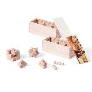 Jeux de puzzles 3D en bois