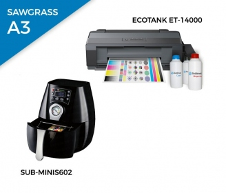 Pack sublimation oven + printer Epson EcoTank ET-14000