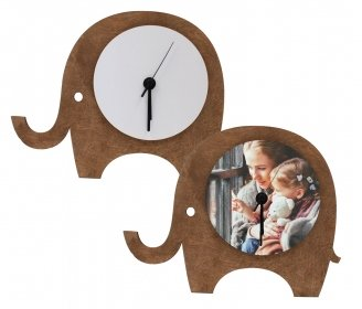Wooden elephant watches