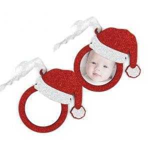 Santa Claus Christmas ball ornaments