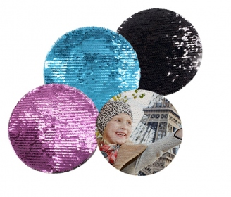 Round Reversible Sequin Transfers