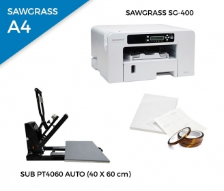 Pack thermal automatic plate SUB-PT4060 + printer Sawgrass 400
