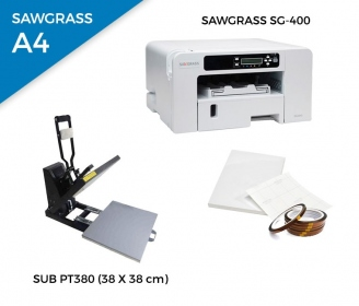 Pack thermal plate SUB-PT380 + printer Sawgrass 400