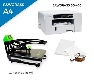 Pack thermal plate AutoClamSlider GS-105 (40 x 50 cm) + printer Sawgrass 400