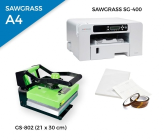 Pack thermal plate HobbyPress II GS-802 + printer Sawgrass 400