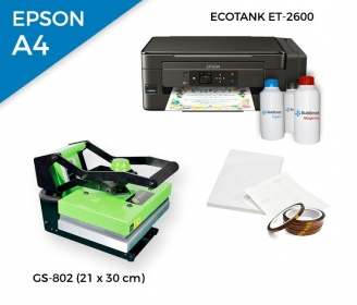 Pack thermal plate HobbyPress II GS-802 + printer Epson EcoTank ET-2600