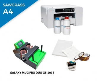 Pack thermal plate for mugs Galaxy DUO GS-203T + printer Sawgrass 400
