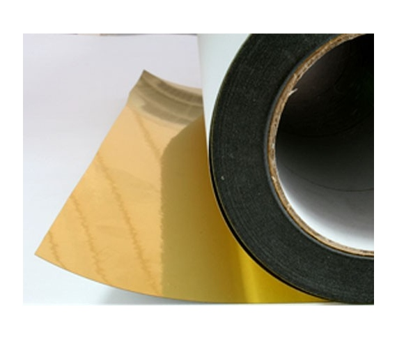 Gold reel film (44,5 cm x 40 m)