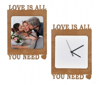Wooden love watches