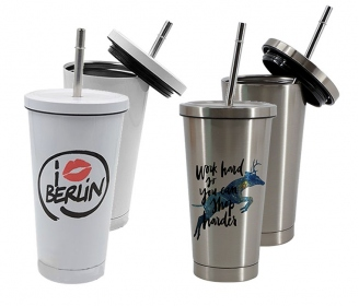 450ML Stainless Steel Starbucks Straw Cup