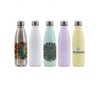 Cola Shape Stainless Steel Bottle 350 ml