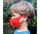 Reusable hygienic face mask