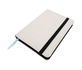 Linen like Notebook A6