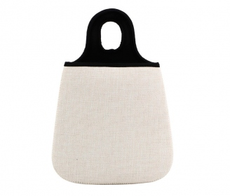 Linen type Car bag
