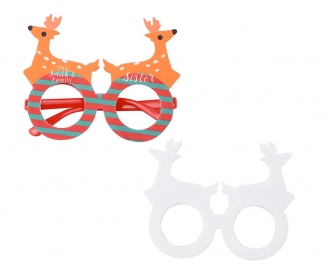 Christamas party glasses Deer