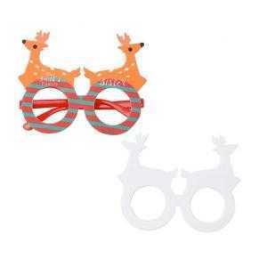 Gafas de Navidad con forma de reno