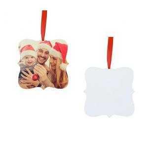 Adornos cuadrado de navidad HPP (2 caras)