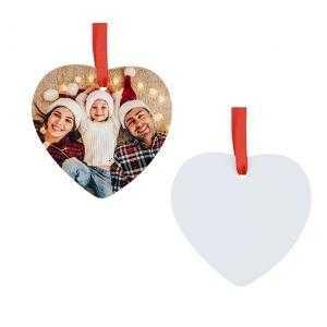 Adornos corazón de navidad HPP (2 caras)