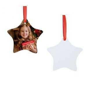 Adornos estrella de navidad HPP (2 caras)