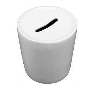 Huchas de cerámica blancas
