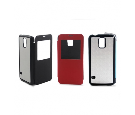 2D Flip cover case for Samsung Galaxy S5/S5 Neo