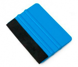 Felt block squeegee for vinyls
