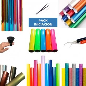 Pack de iniciación de vinilo textil de corte