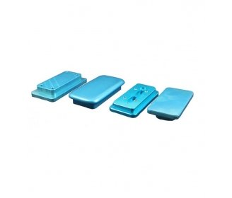 Metal jigs for Polyamide high quality Apple's cases
