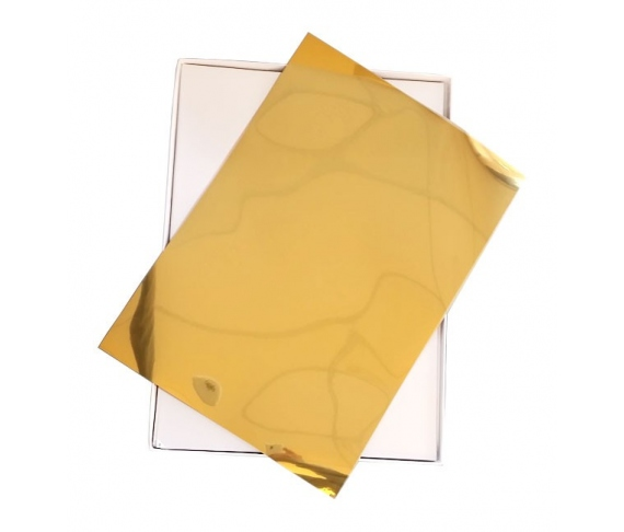 Gold 100 sheets film (A4)