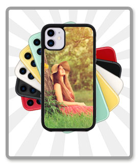 2D Flexible Cases for iPhone 11